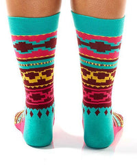 Colorful Aztec Women's Crew Socks