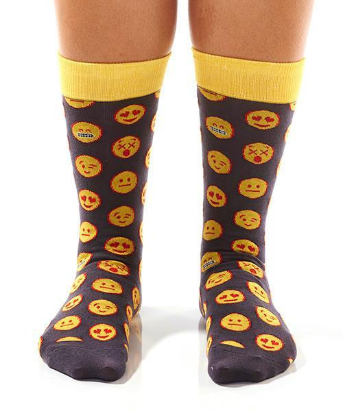 Emoji! Women's Crew Socks , Socks - Yo Sox, USA Yo Sox - 2