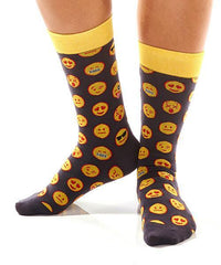Emoji! Women's Crew Socks , Socks - Yo Sox, USA Yo Sox - 3