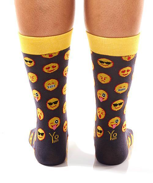 Emoji! Women's Crew Socks , Socks - Yo Sox, USA Yo Sox - 4