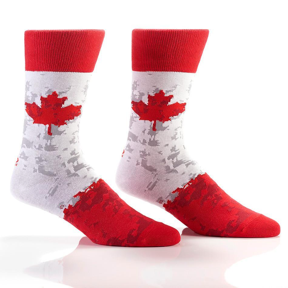 Canadian Pride: Men's Novelty Crew Socks