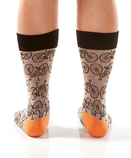 Nice Wheels: Men's Novelty Crew Socks