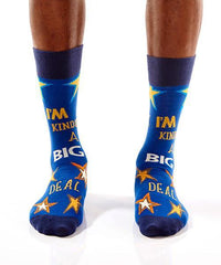 I'm Kind Of A Big Deal: Men's Crew Socks