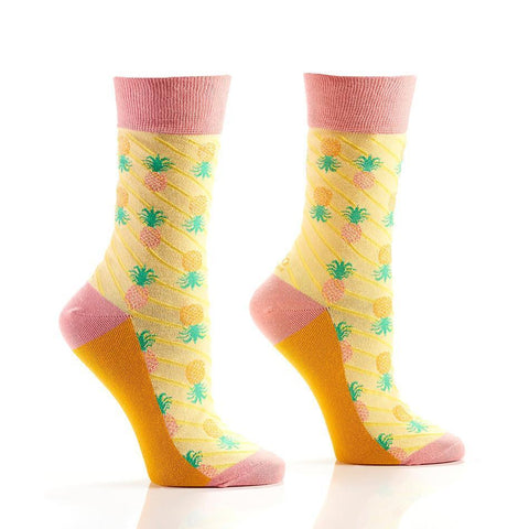 Pineapple Express: Women's Novelty Crew Socks