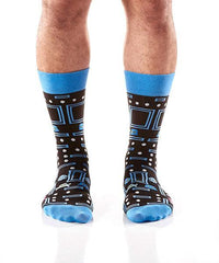 Arcade Games: Men's Crew Socks