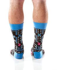 Not Pac Man Men's Crew Socks