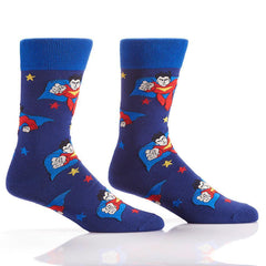 Superhero: Men's Crew Socks