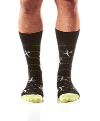 Perfect Landing: Men's Crew Socks