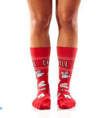 Yo Sox & Chill: Women's Crew Socks