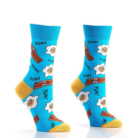 Breakfast of Champions: Women's Novelty Crew Socks