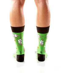 Putt & Pint: Men's Novelty Crew Socks