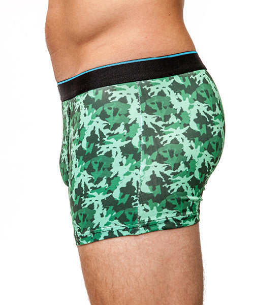 Camouflage Men's Trunk Style Briefs , Underwear - Yo Sox, USA Yo Sox - 2
