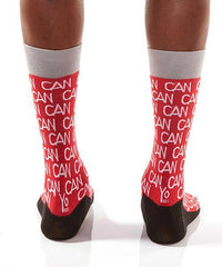 Canada Inspired Red Crew Socks