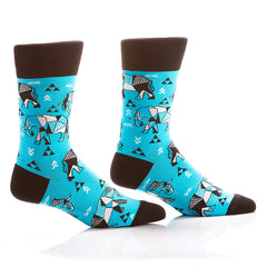 Tickle Trunk Men's Crew Socks