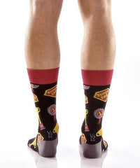 Father's Best Men's Crew Socks , Socks - Yo Sox, Canada Yo Sox  - 4