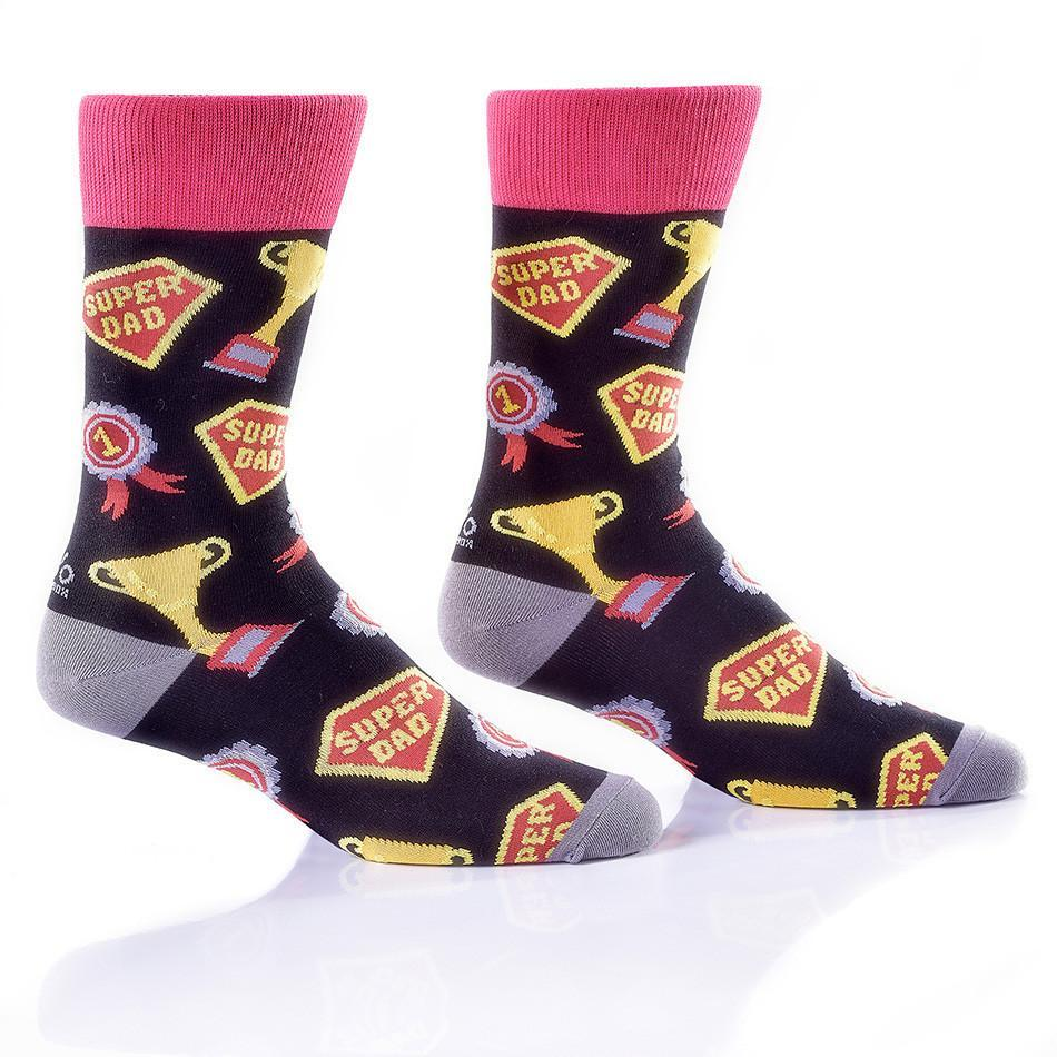 Super Dad: Men's Crew Socks