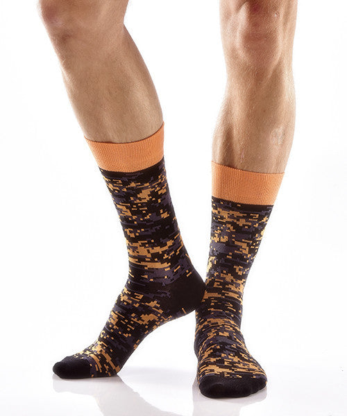Blending In Men's Crew Socks , Socks - Yo Sox, Canada Yo Sox  - 3