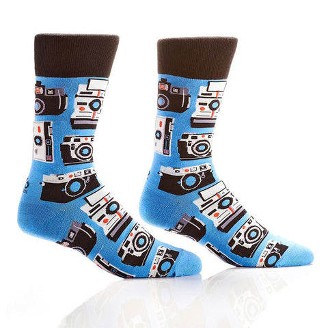 Picture Perfect: Men's Novelty Crew Socks