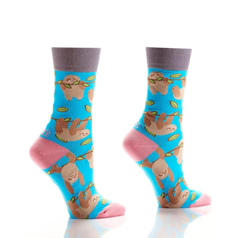 Hangin' Around: Women's Novelty Crew Socks