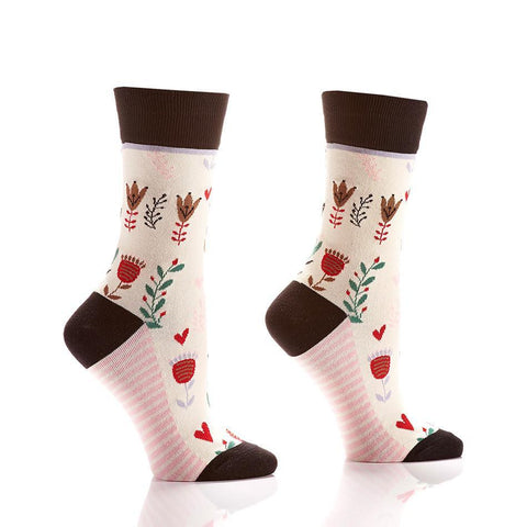 Secret Garden: Women's Novelty Crew Socks