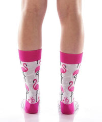 Flamingo Friends Women's Crew Socks , Socks - Yo Sox, Canada Yo Sox  - 4