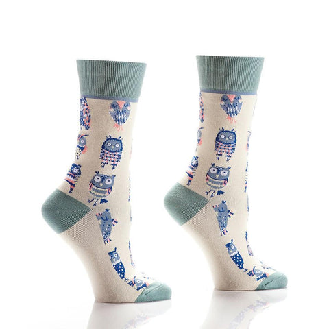 You're a Hoot: Women's Novelty Crew Socks