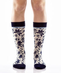Full Bloom Women's Crew Socks , Socks - Yo Sox, Canada Yo Sox  - 2