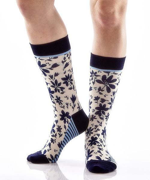 Full Bloom Women's Crew Socks , Socks - Yo Sox, Canada Yo Sox  - 3