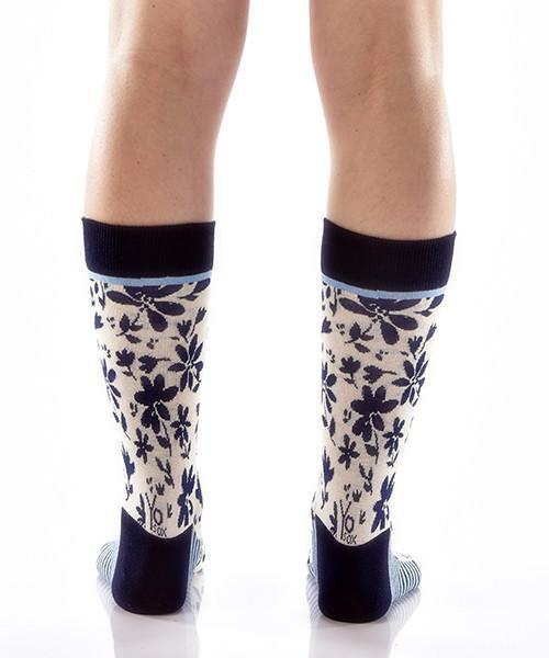 Full Bloom Women's Crew Socks , Socks - Yo Sox, Canada Yo Sox  - 4