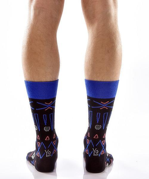 Aztec Adventure Men's Crew Socks