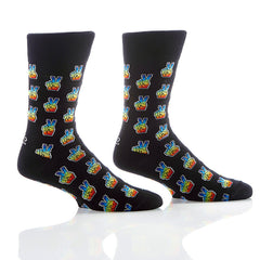 Peace + Love: Men's Crew Socks