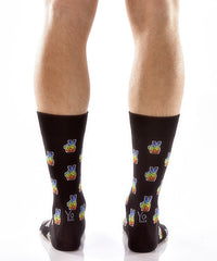 Peace + Love Men's Crew Socks , Socks - Yo Sox, Canada Yo Sox  - 4