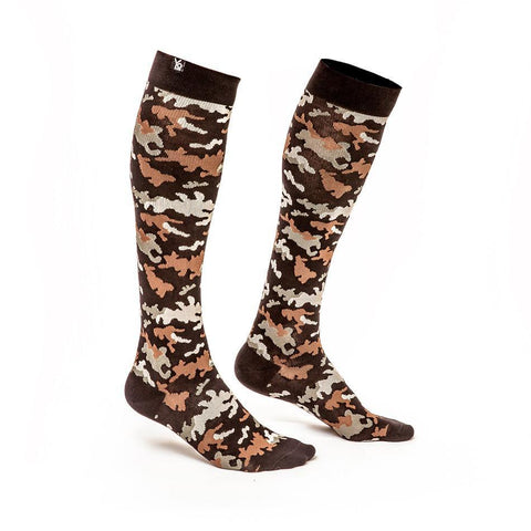 Can't Find Me Camo: Men's Knee-High Compression Socks | Yo Sox