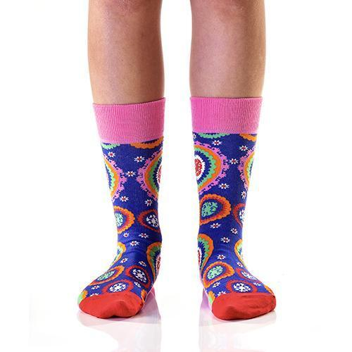 Quirky Colours: Women's Novelty Crew Socks