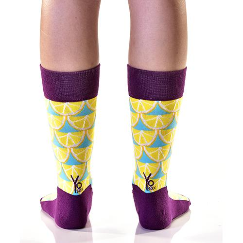 Lemon Drops: Women's Crew Socks