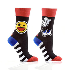 Joke's On You: Women's Crew Socks
