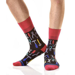 Workshop: Men's Novelty Crew Socks