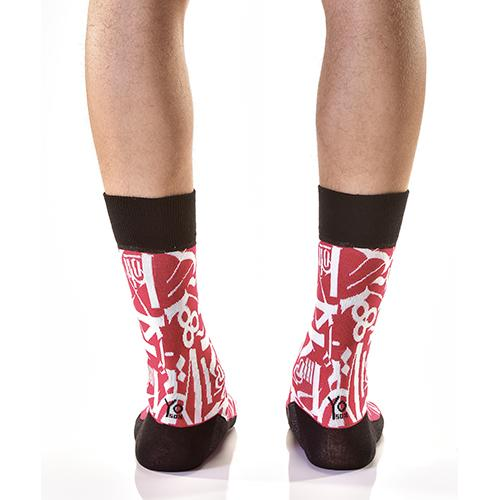 Art Attack: Men's Novelty Crew Socks