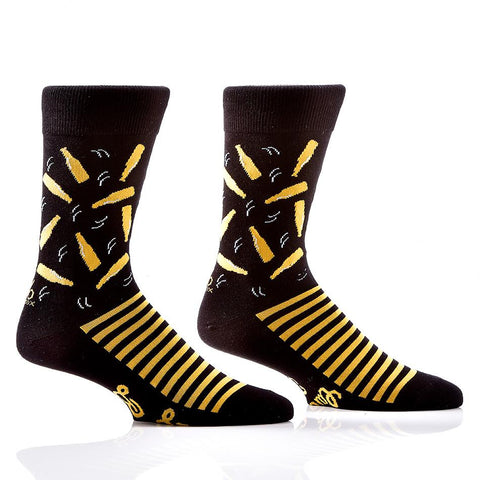 Cheers to Beers: Men's Novelty Crew Socks