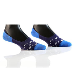 Squiggle Shapes: Men's No Show Socks