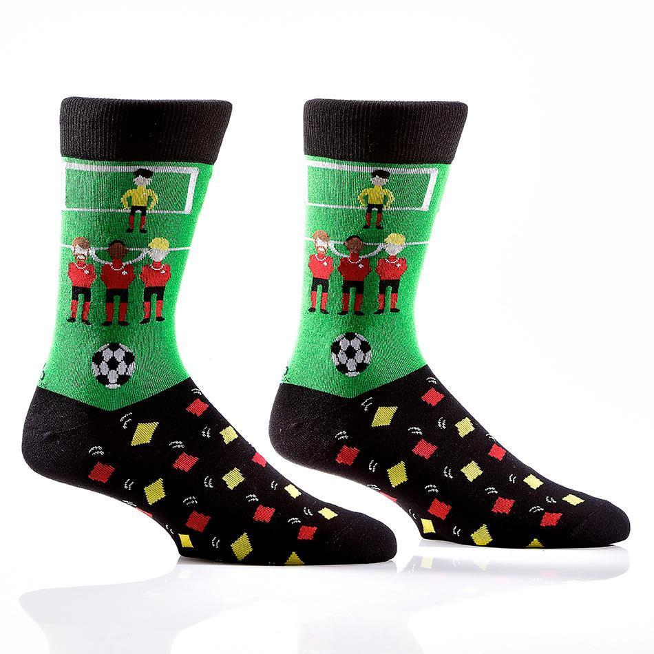 Bend It Like Beckham: Men's Novelty Crew Socks
