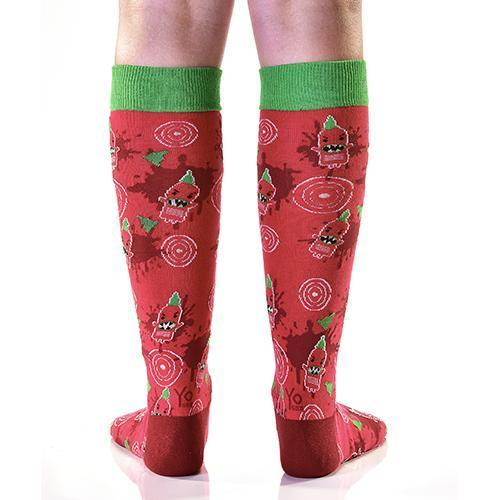 Coming In Hot: Women's Knee-High Socks