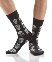 Skull Crusher : Men's Novelty Crew Socks