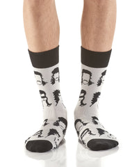 Mean Mullet: Men's Novelty Crew Socks