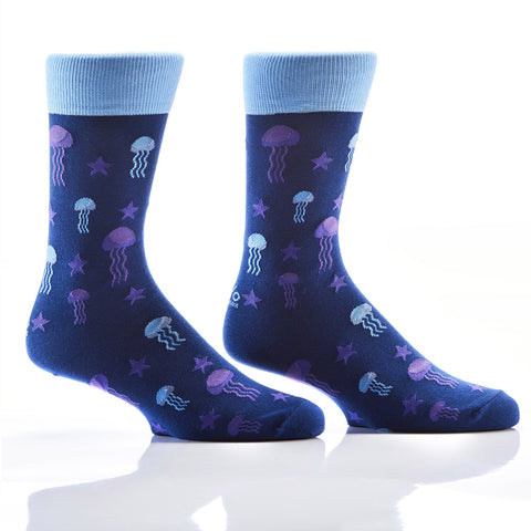 Get Jelly With It: Men's Novelty Crew Socks
