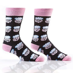 Brainwashed: Men's Novelty Crew Socks