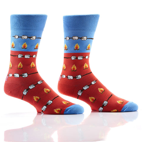 Roasty & Toasty: Men's Novelty Crew Socks