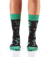 No Big Dill: Women's Crew Socks