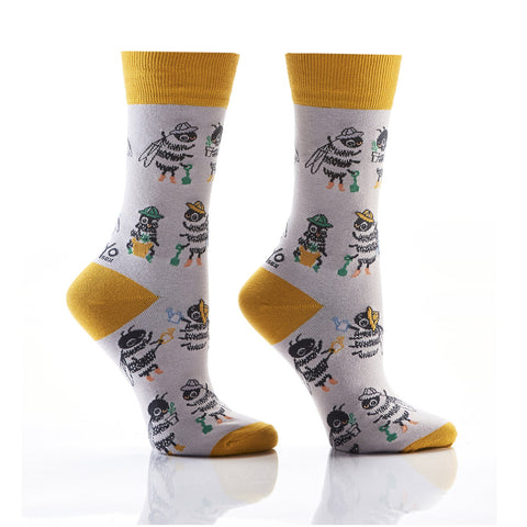 The BeeHive: Women's Novelty Crew Socks