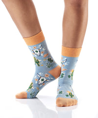 Heard the Cattle: Women's Novelty Crew Socks